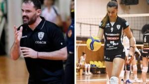 Δηλώσεις Χαριτωνίδη-Ηλιοπούλου ενόψει Πανελλήνιου Πρωταθλήματος βόλεϊ νεανίδων