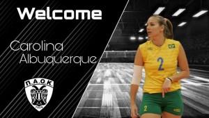 Στον ΠΑΟΚ η «Ολυμπιονίκης» Carolina Albuquerque!