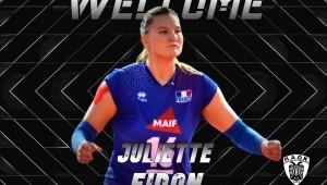 Juliette Fidon-Lebleu: Η αρχηγός της Εθνικής Γαλλίας στον ΠΑΟΚ
