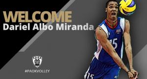 Παίκτης του ΠΑΟΚ ο Daniel Albo Miranda