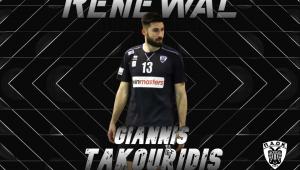 Για έβδομη χρονιά στον ΠΑΟΚ ο Γιάννης Τακουρίδης