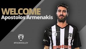 Παίκτης του ΠΑΟΚ ο Απόστολος Αρμενάκης