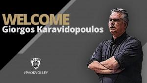 Στην οικογένεια του ΠΑΟΚ ο Γιώργος Καραβιδόπουλος