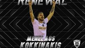 Για δεύτερη χρονιά στον ΠΑΟΚ ο Μενέλαος Κοκκινάκης!