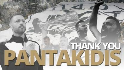 Γιάννης Παντακίδης: Ο ΠΑΟΚ είναι η οικογένειά μου!