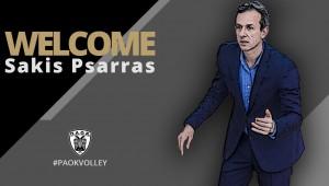Ο Σάκης Ψάρρας νέος προπονητής στον ΠΑΟΚ