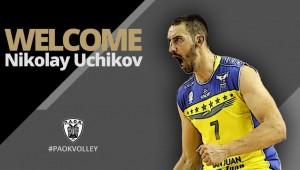 Παίκτης του ΠΑΟΚ ο Nikolay Uchikov