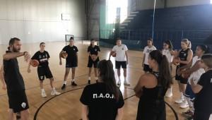 Σκληρή δουλειά για το μπάσκετ γυναικών!