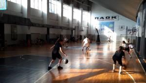 Με χαμόγελα ολοκληρώθηκε η πρώτη εβδομάδα ατομικής βελτίωσης των ακαδημιών μπάσκετ γυναικών!