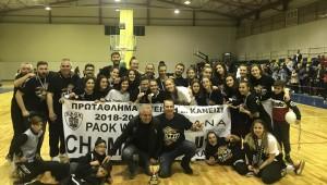 ΠΑΟΚ Πρωταθλητής Θεσσαλονίκης 2019!