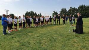 Αγιασμός στη Νέα Μεσημβρία για την ομάδα ποδοσφαίρου γυναικών