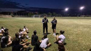 Πρώτη προπόνηση για την Ακαδημία ποδοσφαρίου γυναικών (pics)