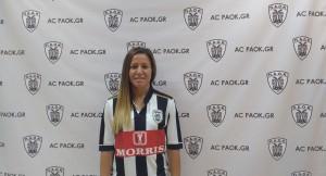 Μαρία Μήτκου, ακόμη μία διεθνής στον ΠΑΟΚ!